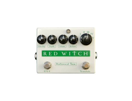 Red Witch Pentavocal Tremolo Pedal