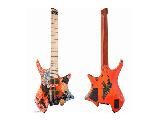 Strandberg boden os 7 hand painted by yvette young for Boden os 6 tremolo