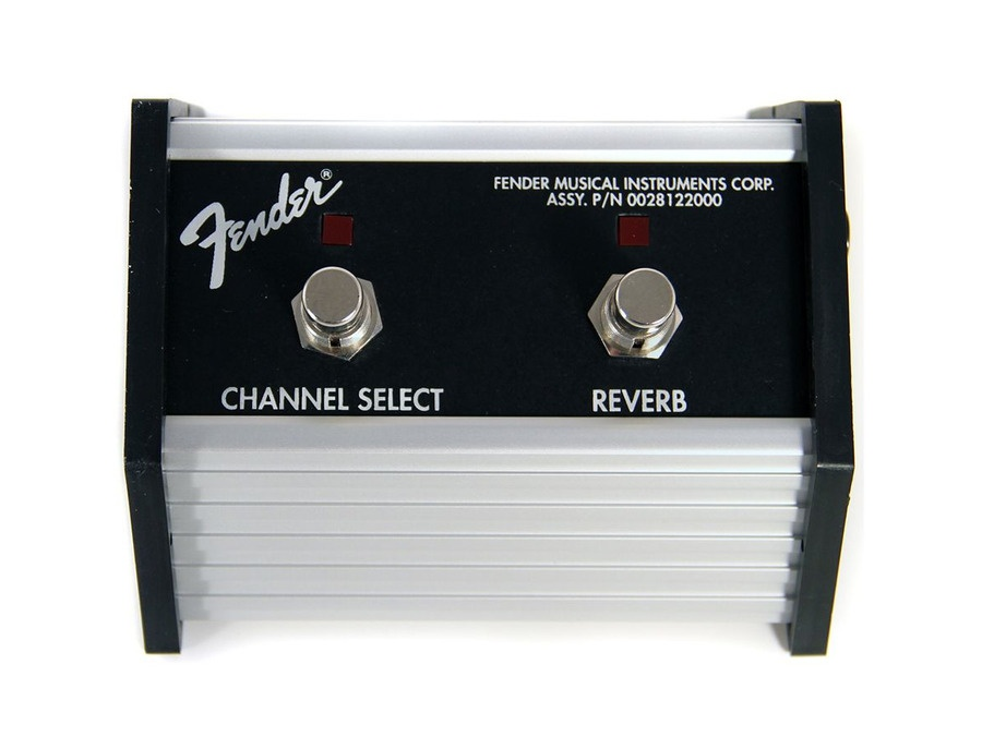 Fender 2-button Channel/Reverb Footswitch