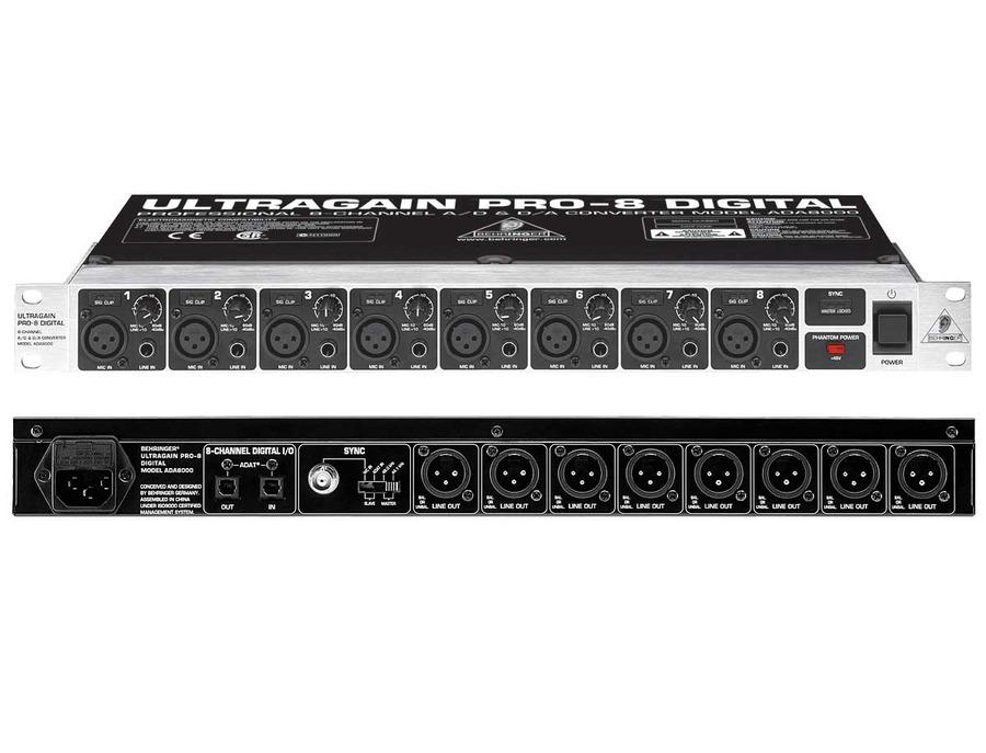 behringer ADA8000