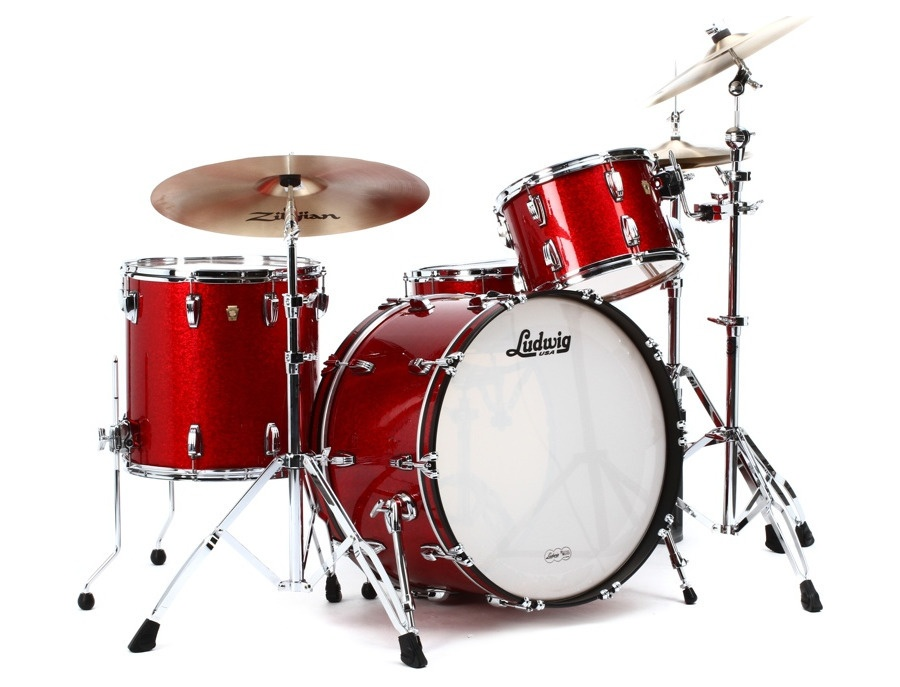 Ludwig classic maple red sparkle xl