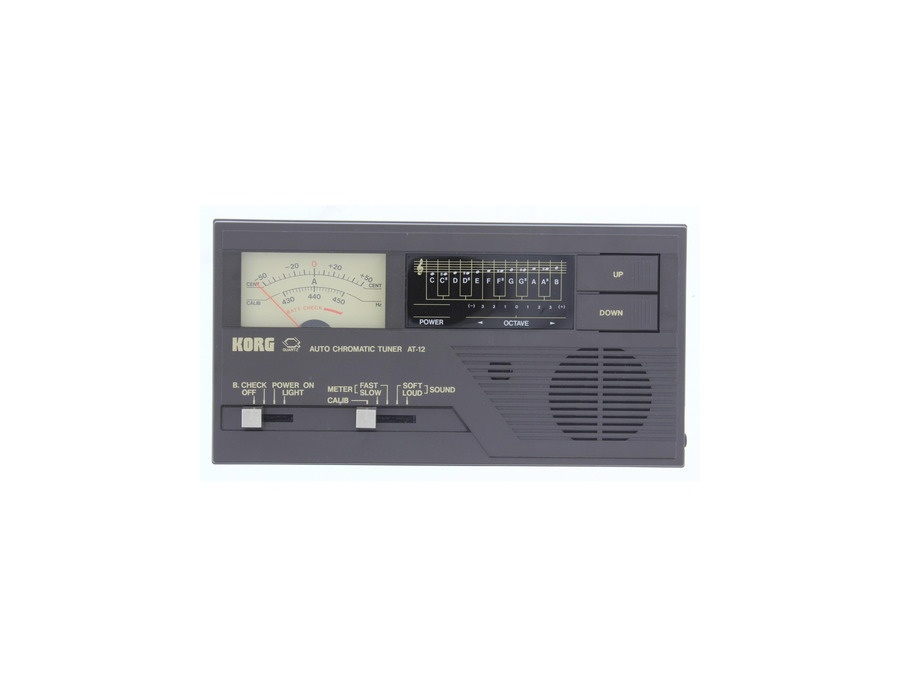 KORG Quartz Electronic Auto Chromatic Tuner AT-12