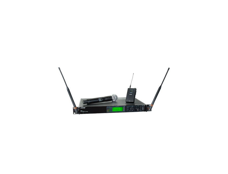 Shure uhf r wireless microphone system xl
