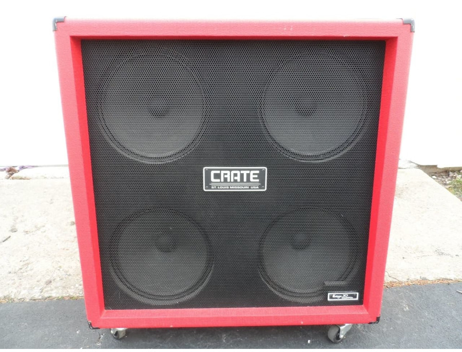 Crate Bv412rvr Red Voodoo 4x12 Amp Cabinet Reviews
