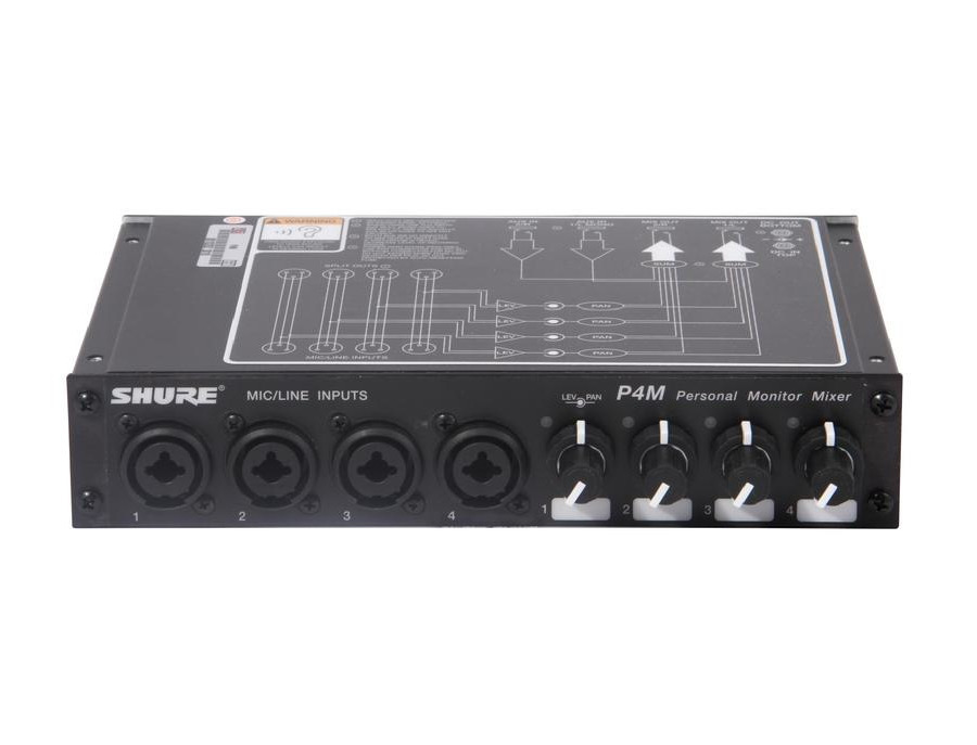 Shure P4M Personal Monitor Mixer