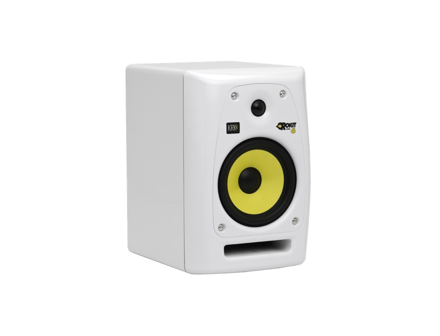 KRK Rokit RP6 G2 Limited Edition White Studio Monitor
