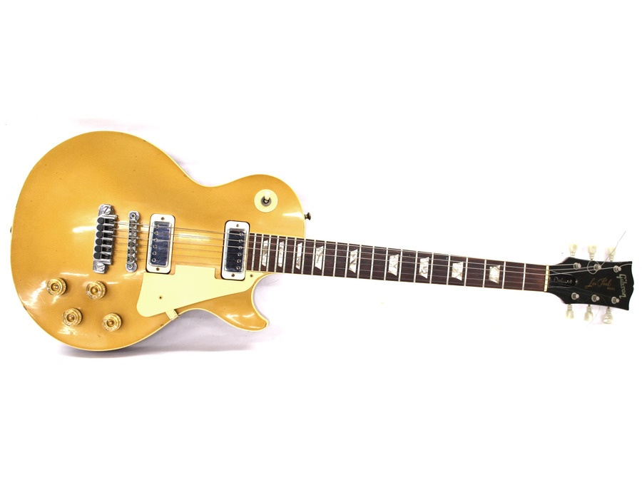 Gibson les paul deluxe goldtop xl