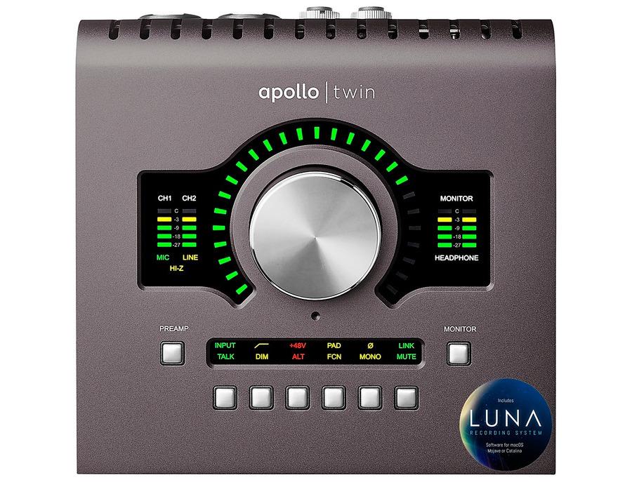 Universal audio apollo twin mkii quad xl
