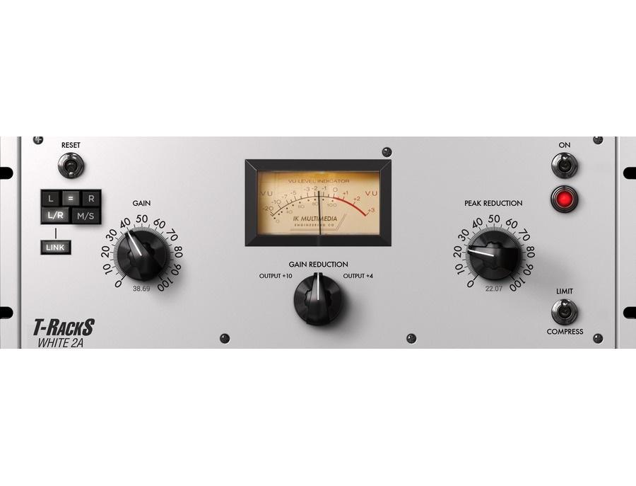 Ik multimedia t racks white 2a leveling amplifier xl