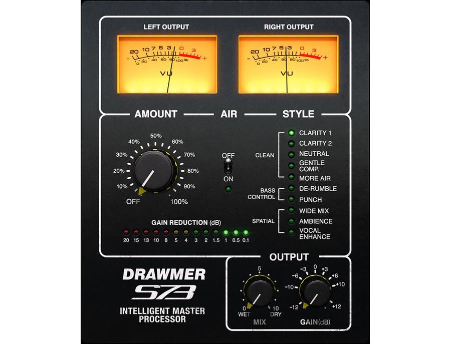 Softube drawmer s73 intelligent master processor xl