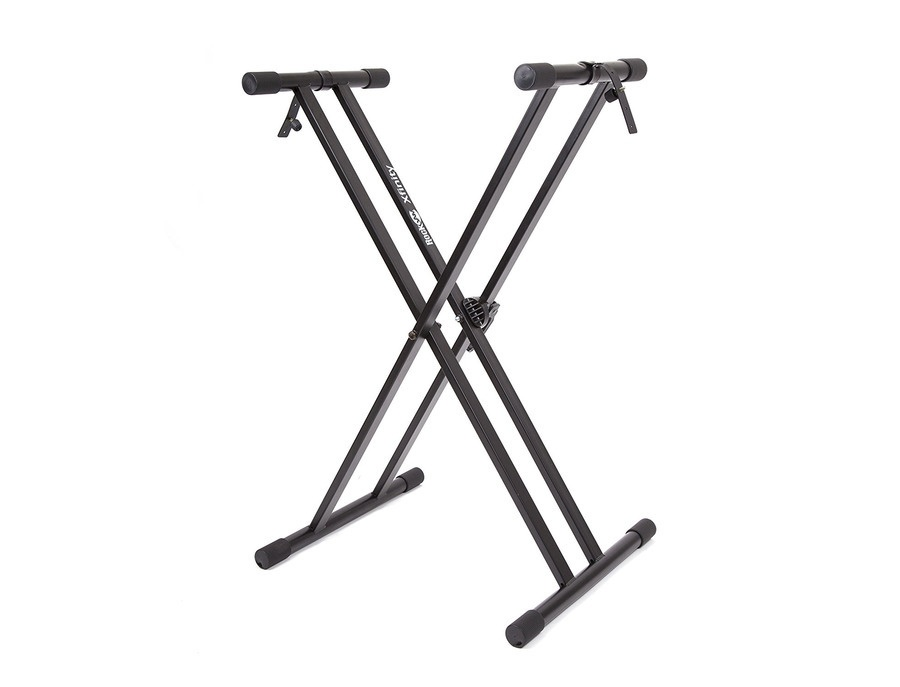 Rockjam xfinity heavy duty double x brace keyboard stand xl