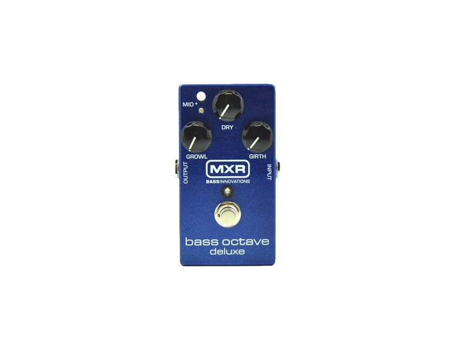 Mxr m288 bass octave deluxe effects pedal xl