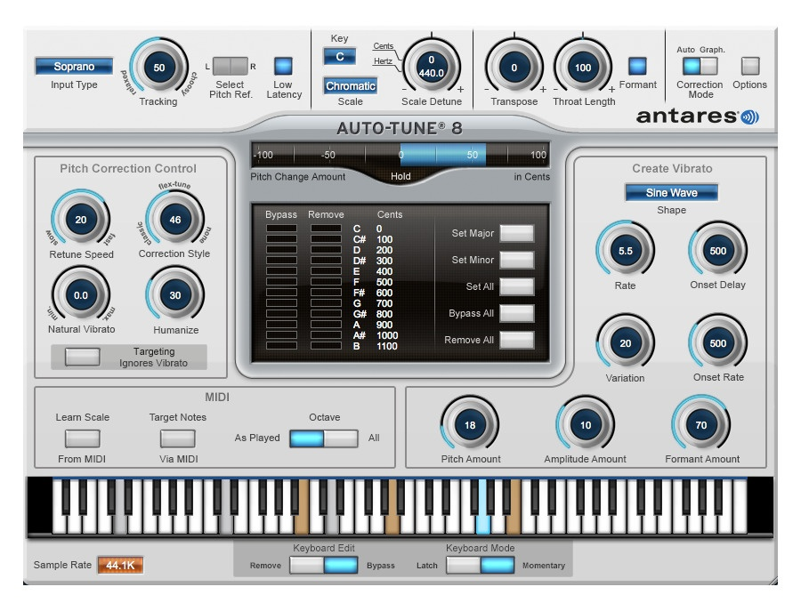 Antares Auto-Tune 8