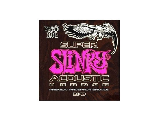 Ernie Ball 2148 Super Slinky Acoustic Guitar Strings