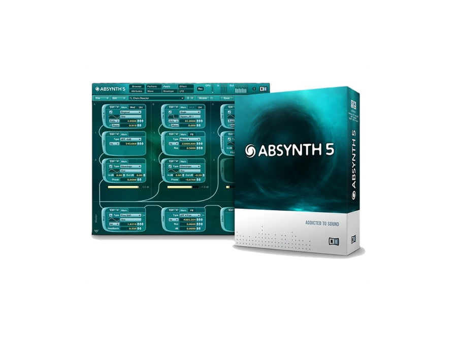 Absynth 5 Crack скачать - фото 4