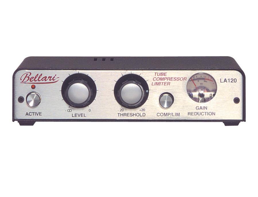 Bellari LA120 Tube Compressor/limiter Reviews & Prices   Equipboard®