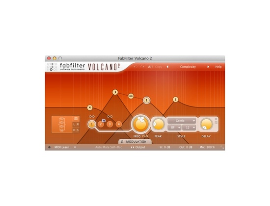 FabFilter Volcano 2 Filter Plugin