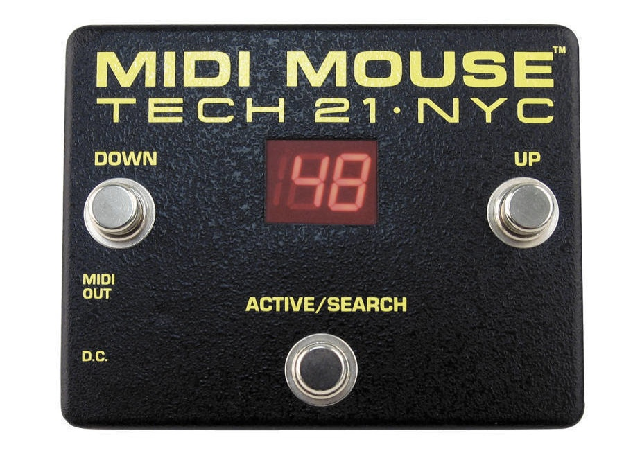 Tech 21 midi mouse pedal xl
