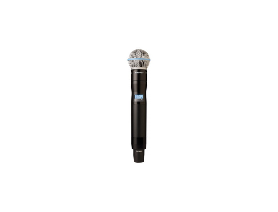 Shure AXT200/BETA58 Handheld Frequency Diversity Microphone