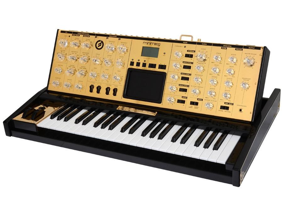 Moog Minimoog Voyager Lunar Gold Limited Edition