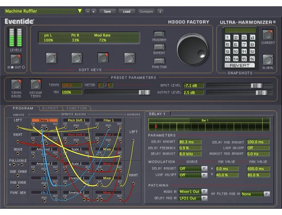 Eventide h3000 factory harmonizer plugin xl