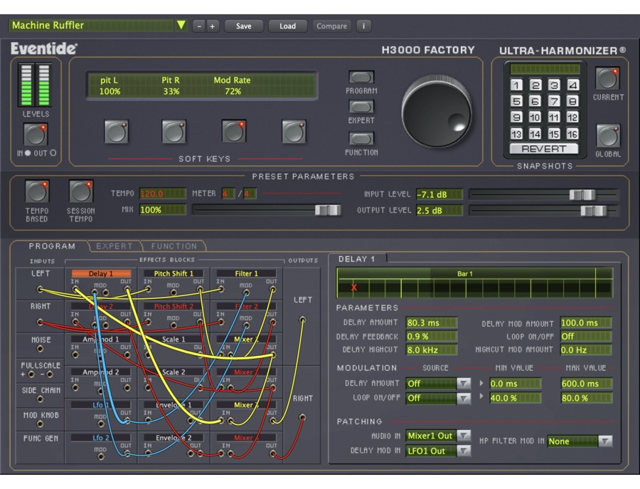 Eventide H3000 Factory Harmonizer Plugin