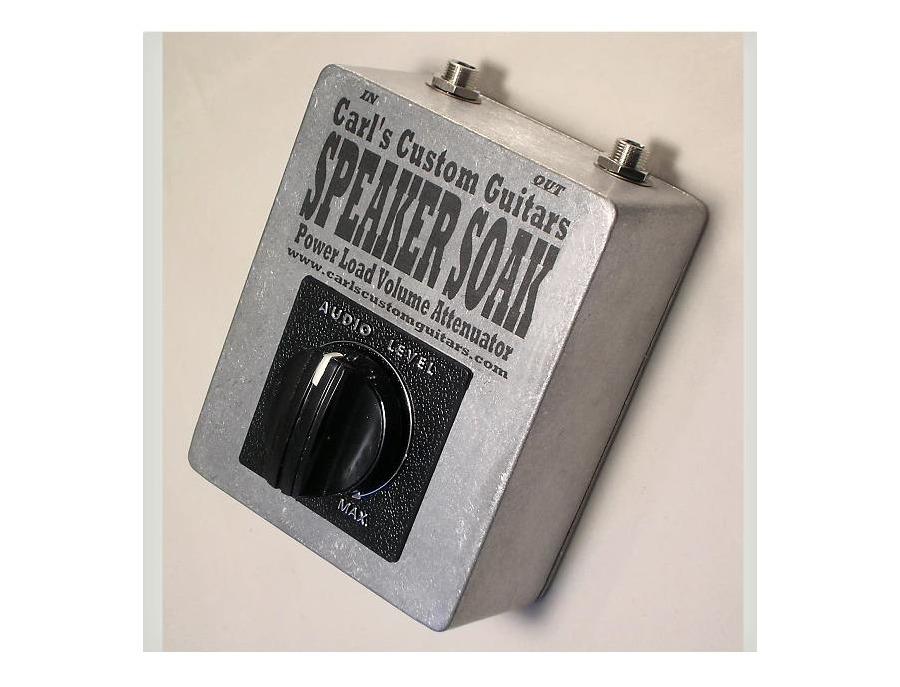 Speaker Soak Power Tube Volume Attenuator by Carl's Custom Guitars