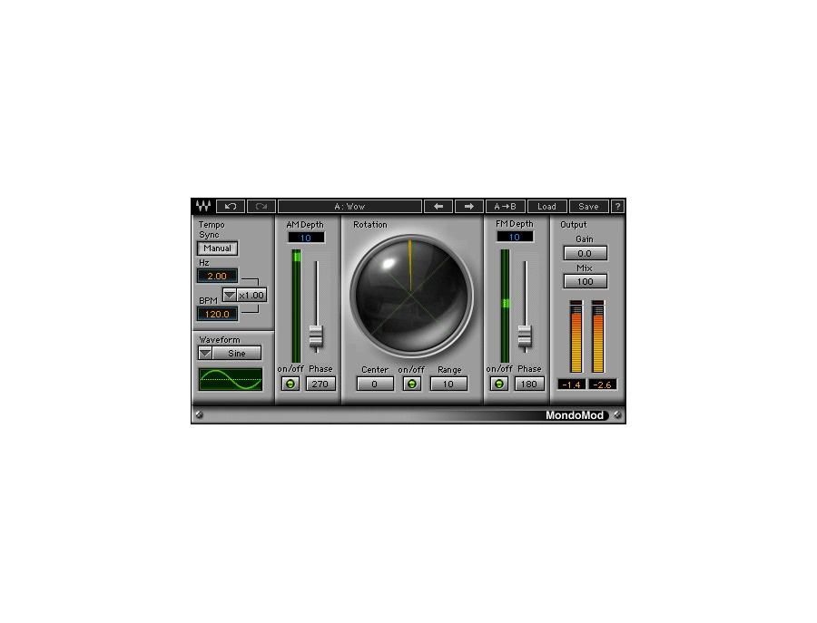 Waves MondoMod Modulation Chorus Plugin