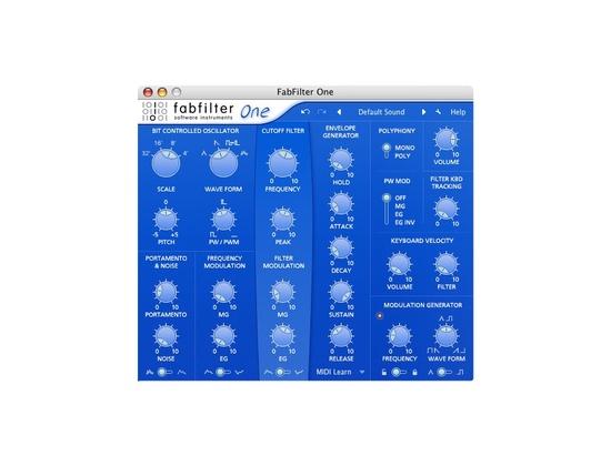 FabFilter One Synthesizer Plugin