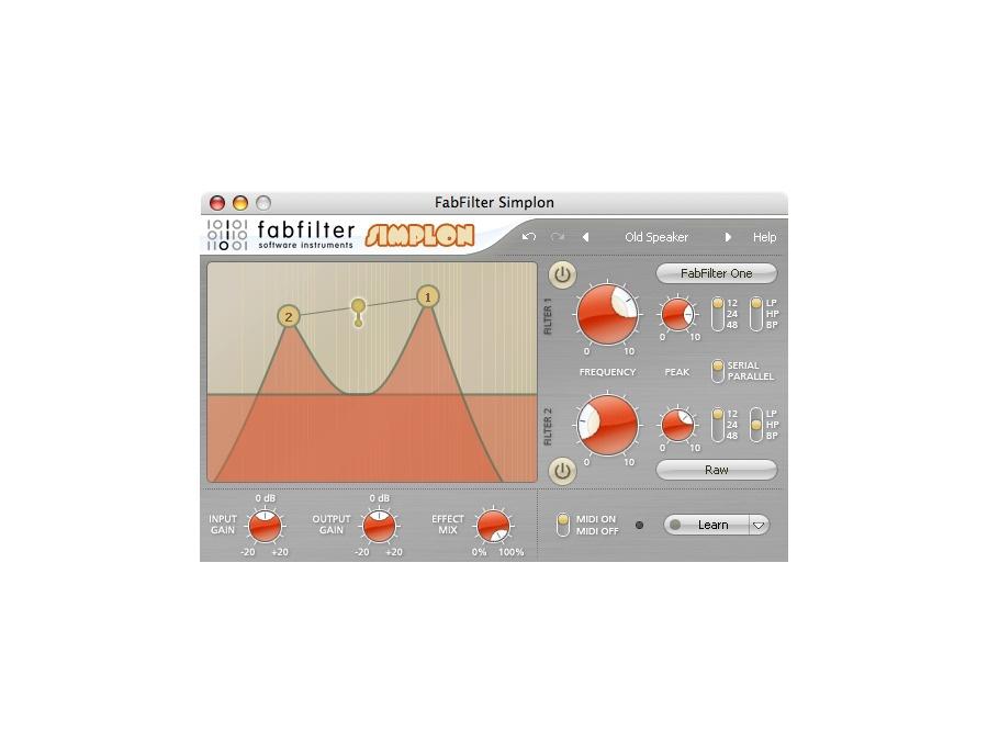 FabFilter Simplon Filter Plugin