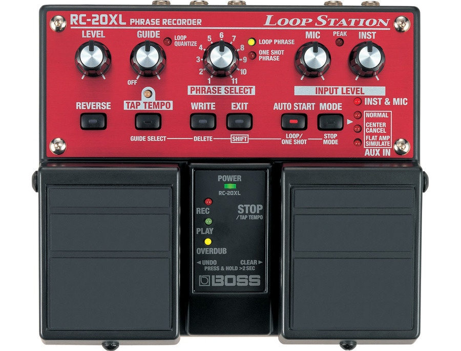 Boss rc 20xl loop station xl