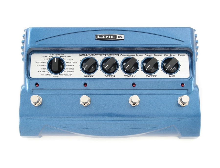line 6 mm4 modulation guitar effects pedal reviews prices equipboard. Black Bedroom Furniture Sets. Home Design Ideas