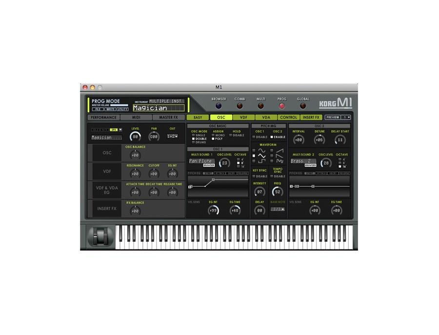 Korg m1 software synthesizer xl