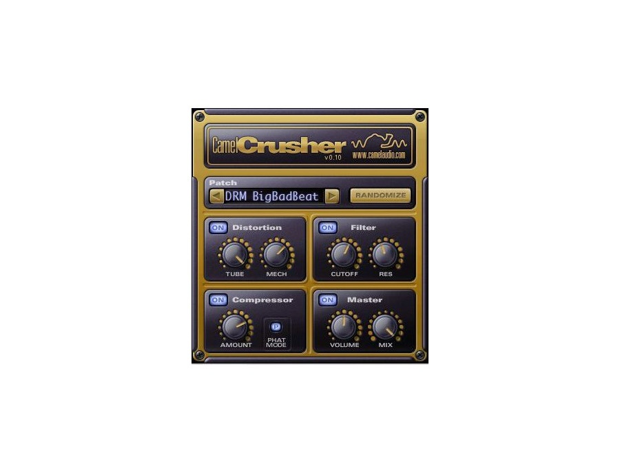 Camel Audio CamelCrusher Distortion Plugin