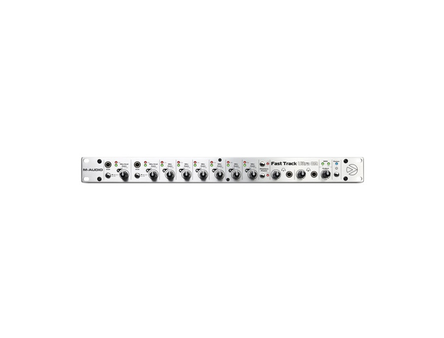 M-Audio Fast Track Ultra 8R USB 2.0 Audio Interface