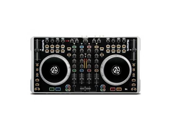 Numark N4 4-Deck Digital DJ Controller And Mixer