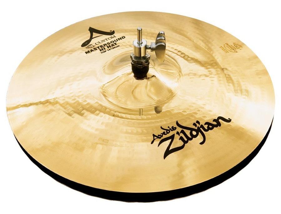 "Zildjian 14"" A Custom Master Sound Hi Hats"