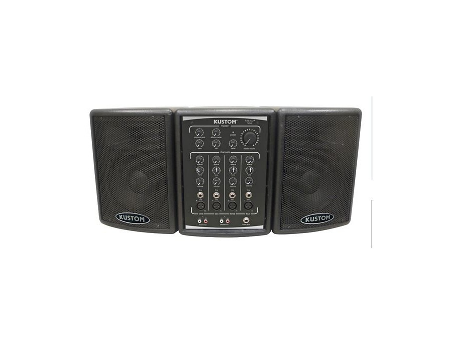 Kustom Pa Profile 100 Portable Pa System Reviews Amp Prices
