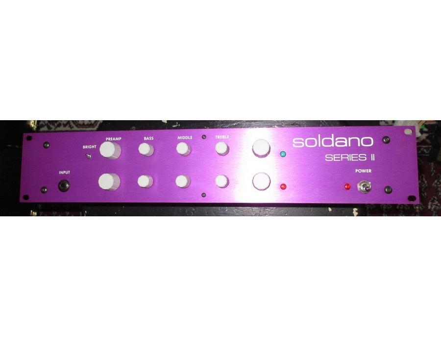 Soldano sp 77 series ii tube guitar preamp xl