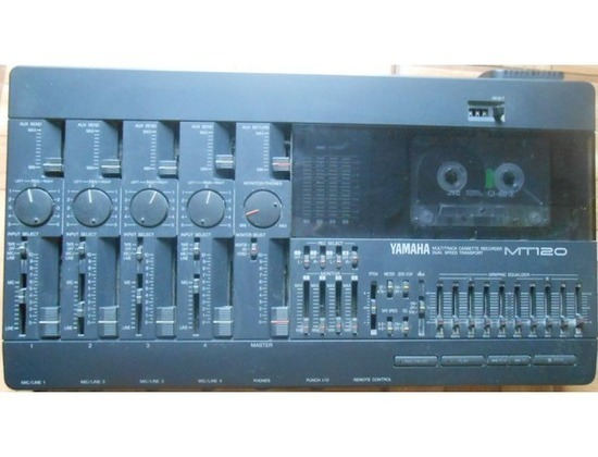 Yamaha MT120 Multitrack Cassette Recorder