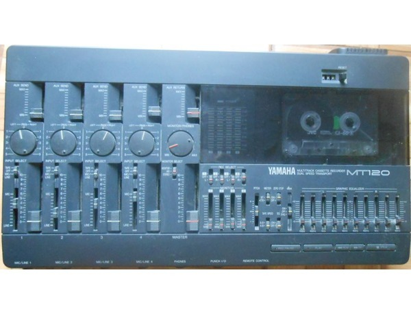 Yamaha mt120 multitrack cassette recorder xl