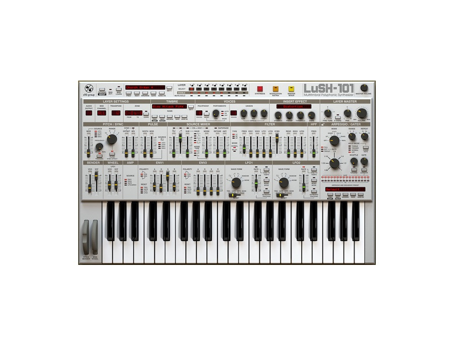 D16 Group LuSH-101 Software Synthesizer