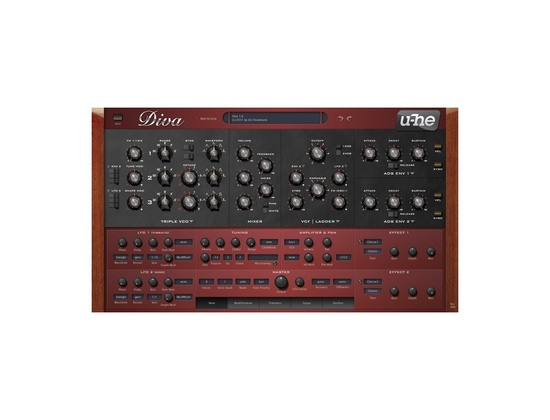 u-he Diva Software Synthesizer Plugin