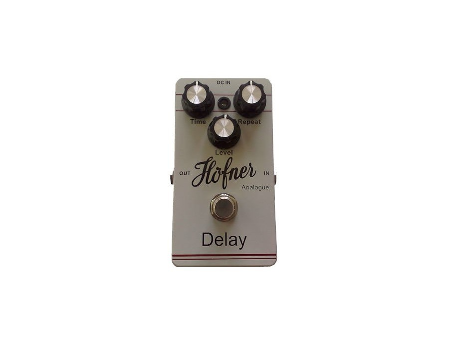 Hofner analogue delay pedal xl