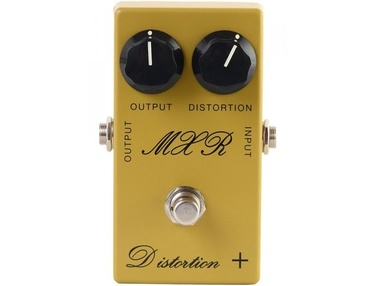 MXR Distortion + (Script Logo)