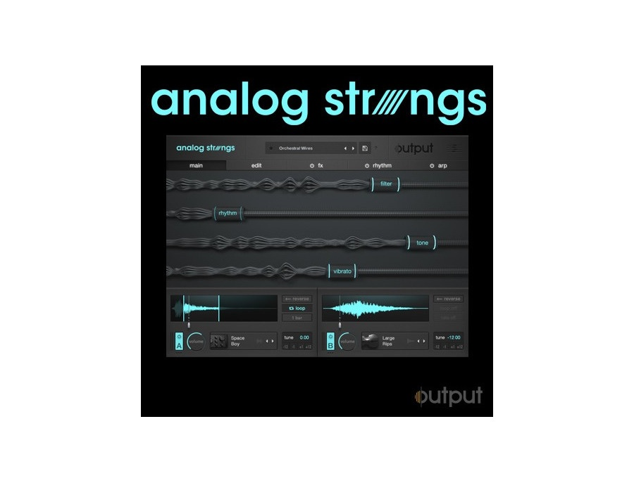 Output analog strings xl