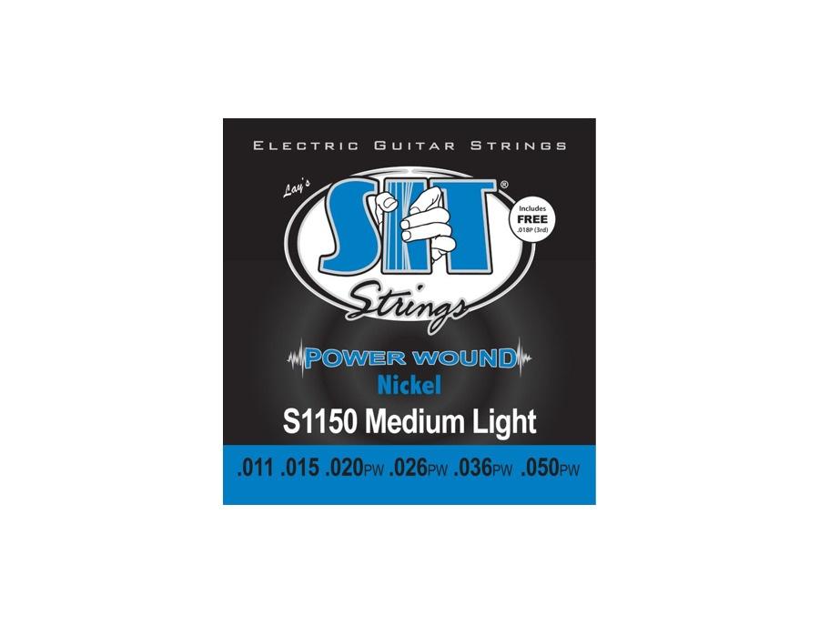 SIT Strings S1150 Medium Light Power Wound Nickel Electric Guitar Strings