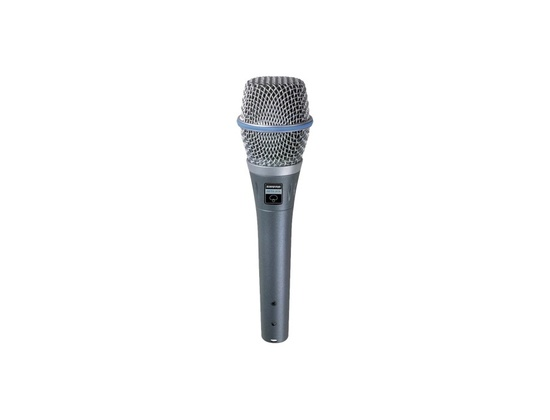 Shure Beta 87A Condenser Vocal Microphone