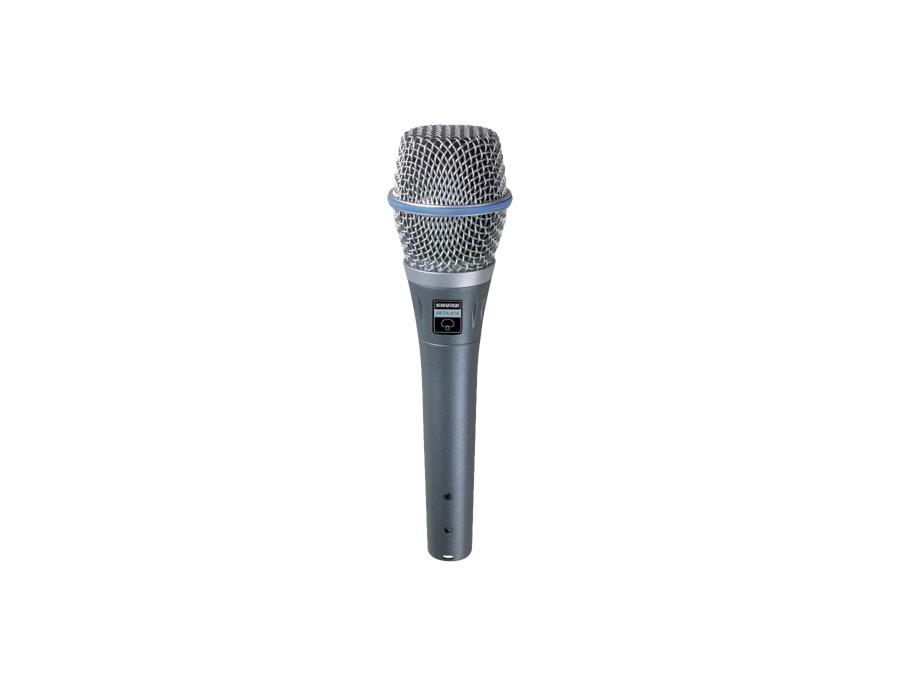 Shure beta 87a condenser vocal microphone xl