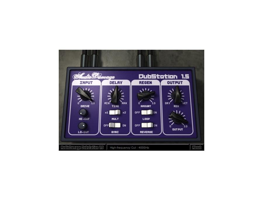 Audio damage dubstation delay plugin xl